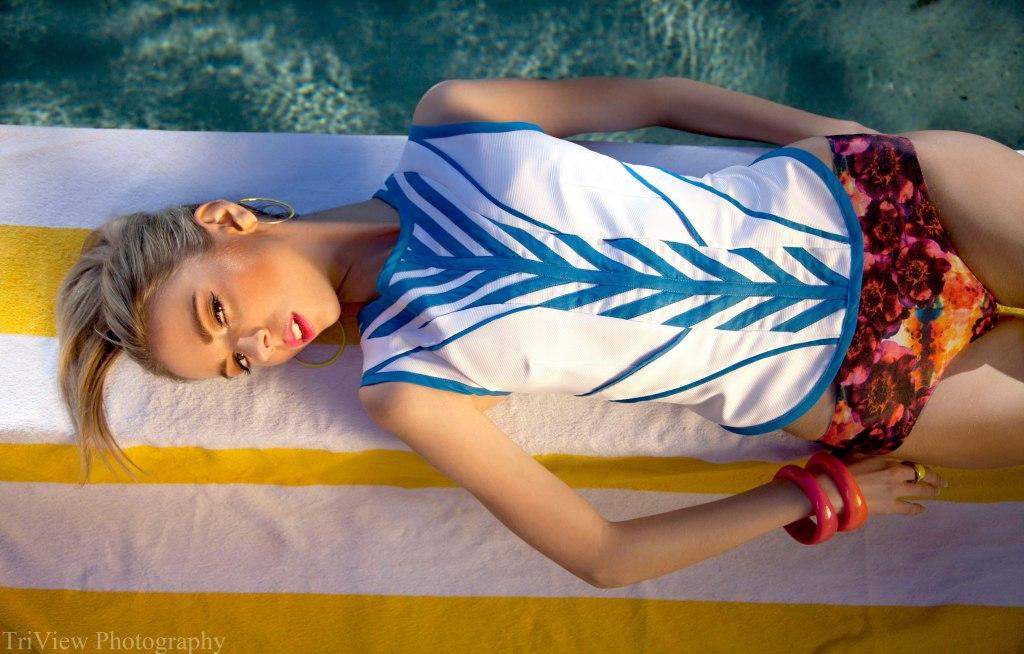 Fashion model Izzy Doak