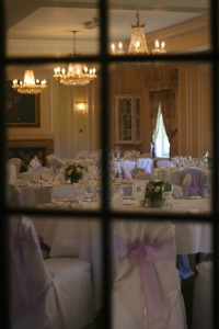 wedding photography tables set