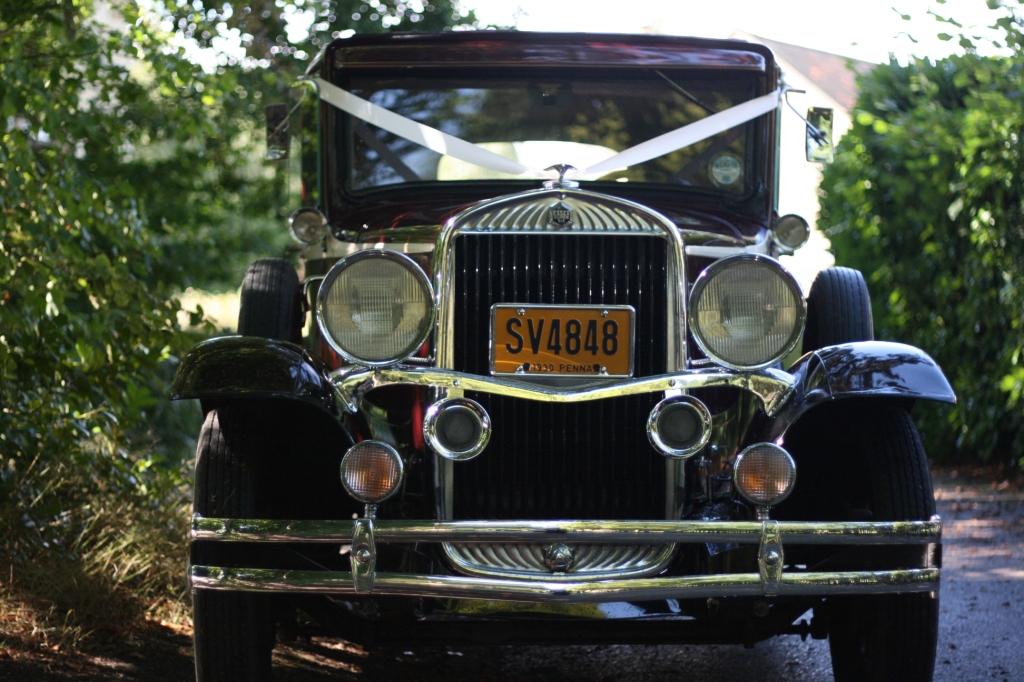 Wedding photography wedding car