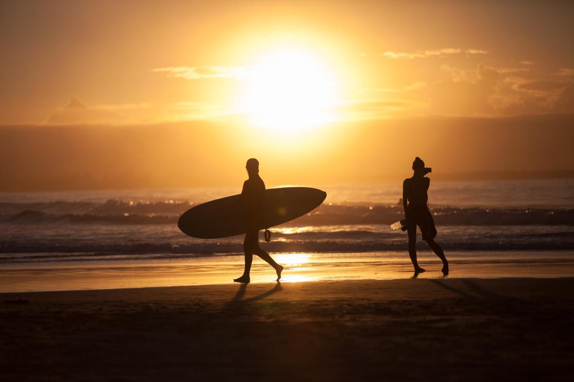 Byron Bay surf 2017